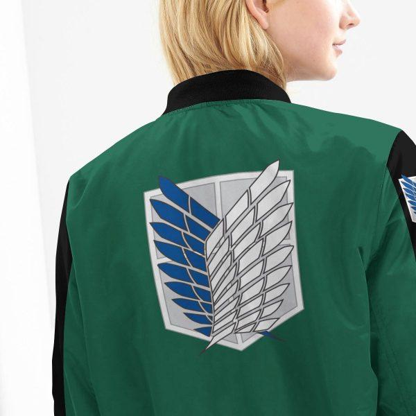 personalized scouting legion bomber jacket 256592 - Anime Jacket