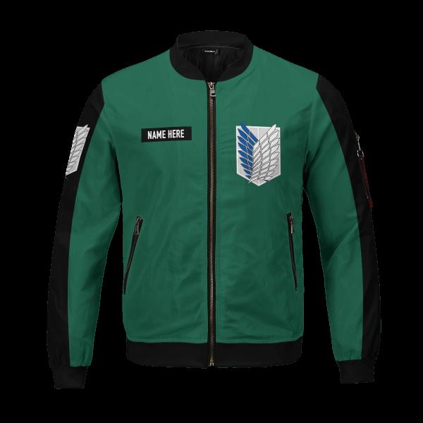 personalized scouting legion bomber jacket 518384 - Anime Jacket