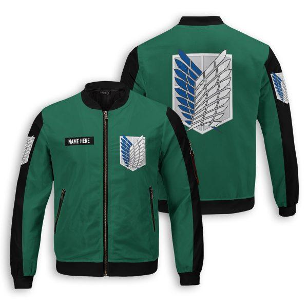personalized scouting legion bomber jacket 657115 - Anime Jacket
