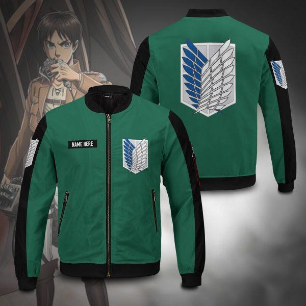 personalized scouting legion bomber jacket 909591 - Anime Jacket
