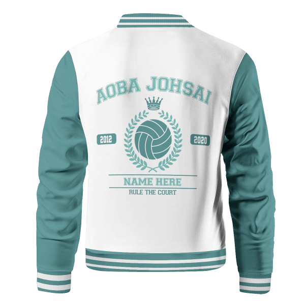 personalized seijoh rule the court bomber jacket 438223 - Anime Jacket
