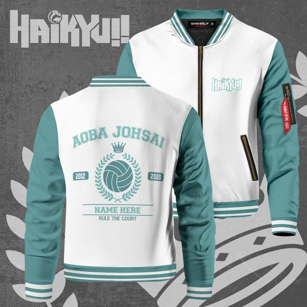 personalized seijoh rule the court bomber jacket 663204 - Anime Jacket