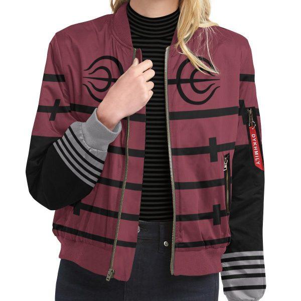 personalized senju clan bomber jacket 444682 - Anime Jacket