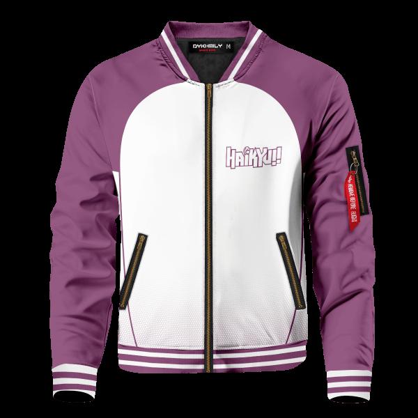 personalized shiratorizawa intense force bomber jacket 563610 - Anime Jacket
