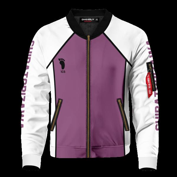 personalized shiratorizawa libero bomber jacket 509423 - Anime Jacket