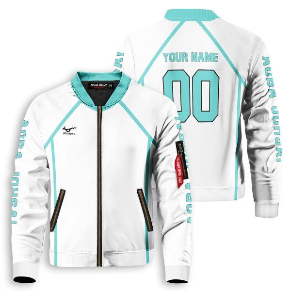 personalized team aoba johsai bomber jacket 292872 - Anime Jacket
