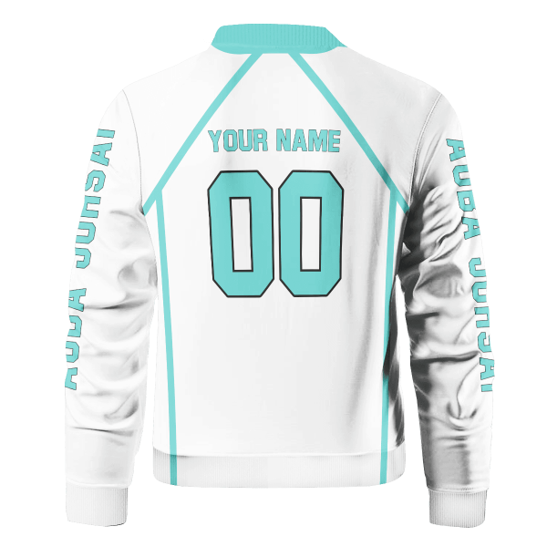personalized team aoba johsai bomber jacket 915051 - Anime Jacket