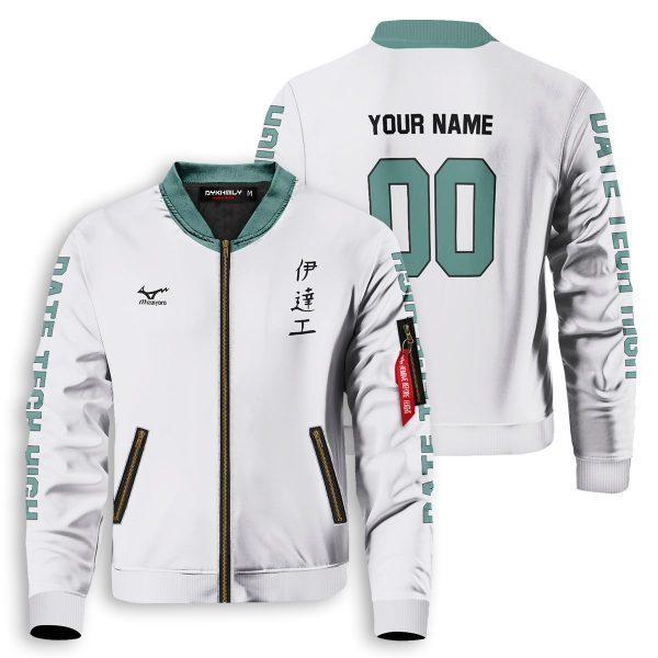 personalized team datekou bomber jacket 505069 - Anime Jacket
