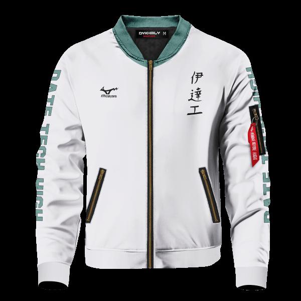 personalized team datekou bomber jacket 930066 - Anime Jacket