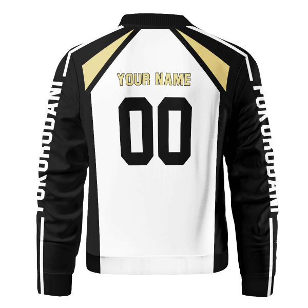 personalized team fukurodani bomber jacket 547550 - Anime Jacket