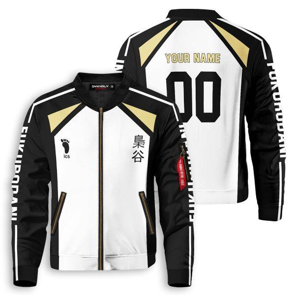 personalized team fukurodani bomber jacket 592494 - Anime Jacket