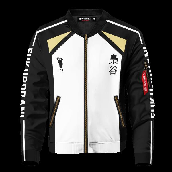 personalized team fukurodani bomber jacket 727206 - Anime Jacket