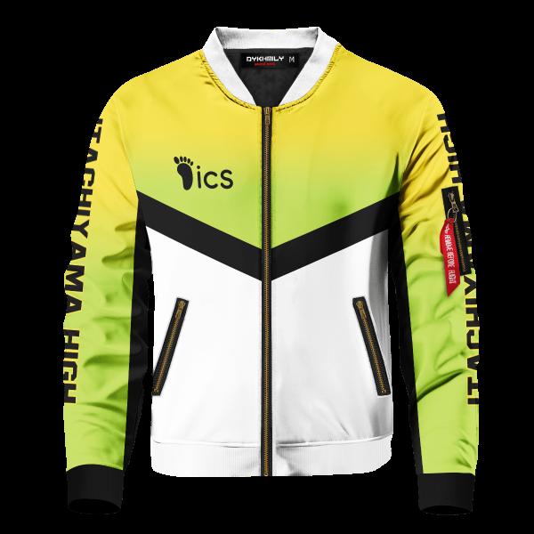 personalized team itachiyama bomber jacket 907559 - Anime Jacket