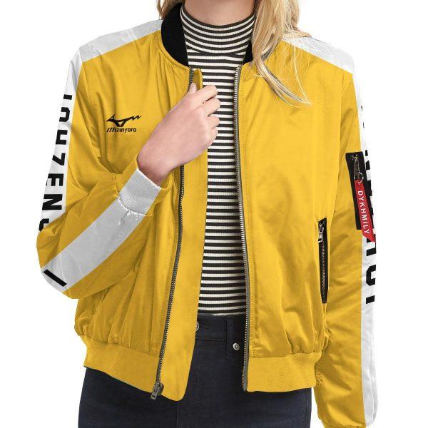 personalized team johzenji bomber jacket 145578 - Anime Jacket