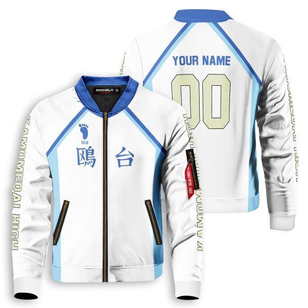 personalized team kamomedai bomber jacket 207815 - Anime Jacket