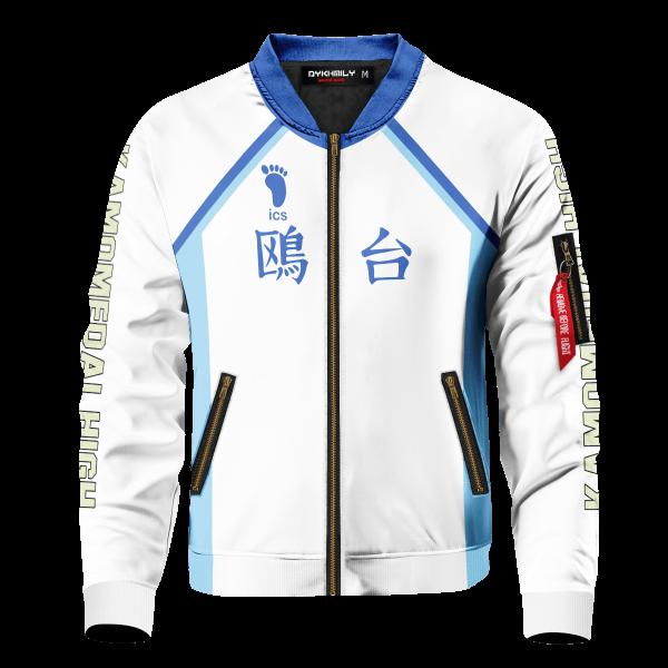 personalized team kamomedai bomber jacket 457884 - Anime Jacket