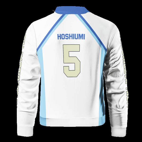 personalized team kamomedai bomber jacket 501013 - Anime Jacket