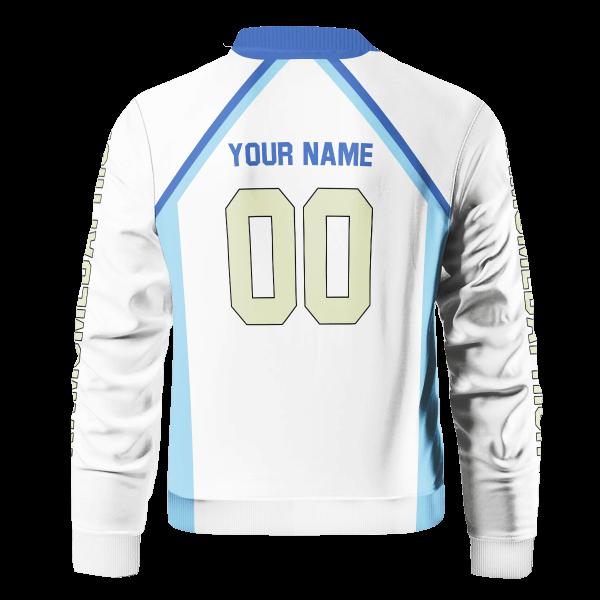 personalized team kamomedai bomber jacket 691290 - Anime Jacket