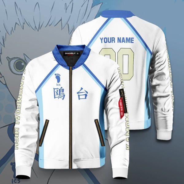 personalized team kamomedai bomber jacket 730209 - Anime Jacket