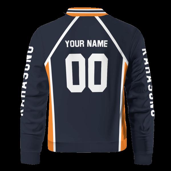 personalized team karasuno bomber jacket 276528 - Anime Jacket