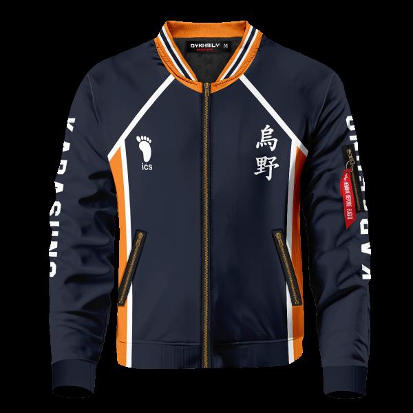 personalized team karasuno bomber jacket 934593 - Anime Jacket