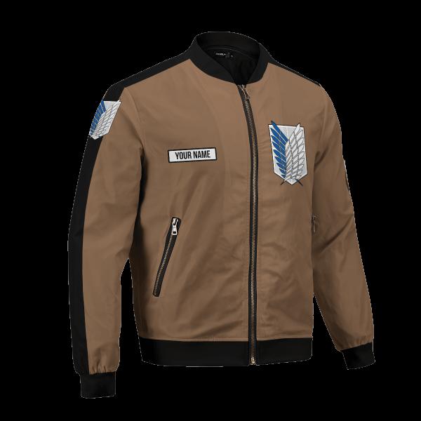 personalized team levi bomber jacket 133613 - Anime Jacket