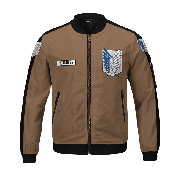 personalized team levi bomber jacket 327116 - Anime Jacket