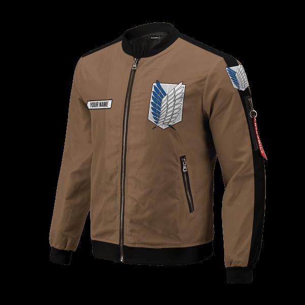 personalized team levi bomber jacket 335890 - Anime Jacket