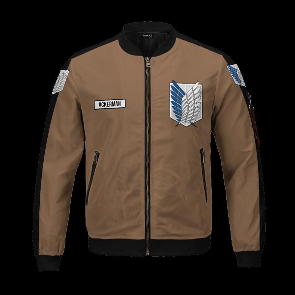personalized team levi bomber jacket 362087 - Anime Jacket