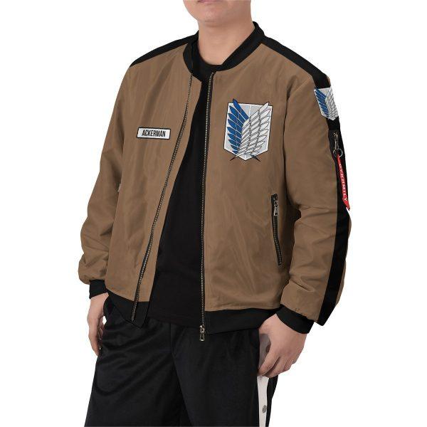 personalized team levi bomber jacket 401036 - Anime Jacket