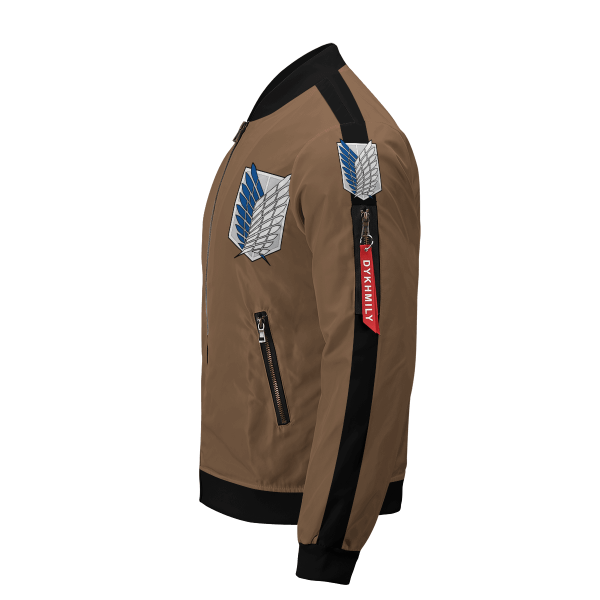 personalized team levi bomber jacket 706445 - Anime Jacket