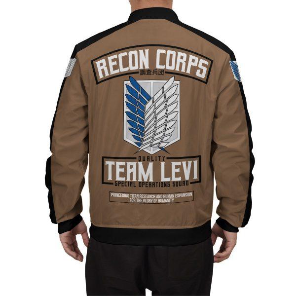personalized team levi bomber jacket 722459 - Anime Jacket