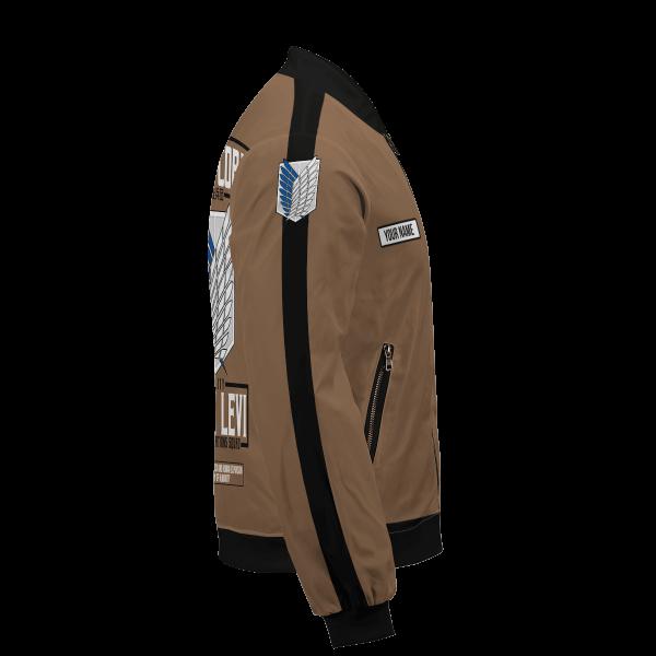 personalized team levi bomber jacket 806213 - Anime Jacket