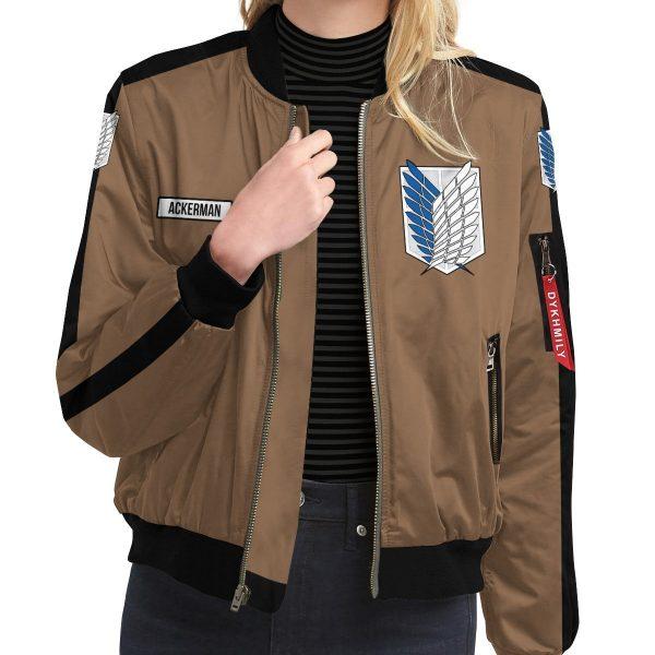 personalized team levi bomber jacket 945826 - Anime Jacket