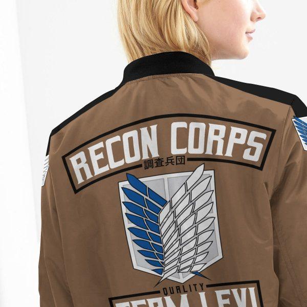personalized team levi bomber jacket 976472 - Anime Jacket