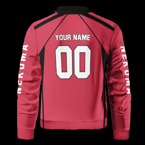 personalized team nekoma bomber jacket 767711 - Anime Jacket
