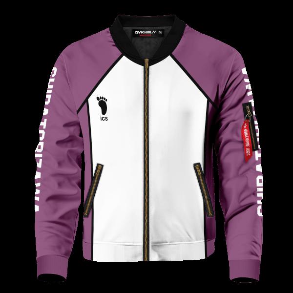 personalized team shiratorizawa bomber jacket 873629 - Anime Jacket
