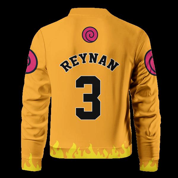 personalized three man squad bomber jacket 100790 - Anime Jacket