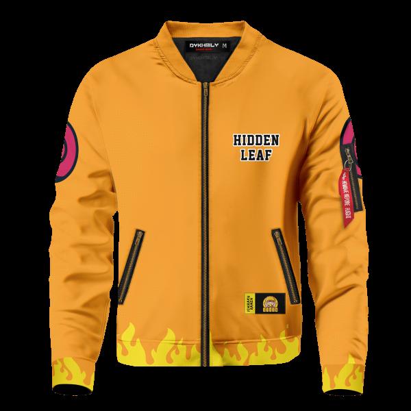 personalized three man squad bomber jacket 219591 - Anime Jacket