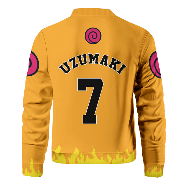 personalized three man squad bomber jacket 848670 - Anime Jacket