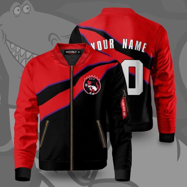 personalized toronto rex bomber jacket 515287 - Anime Jacket