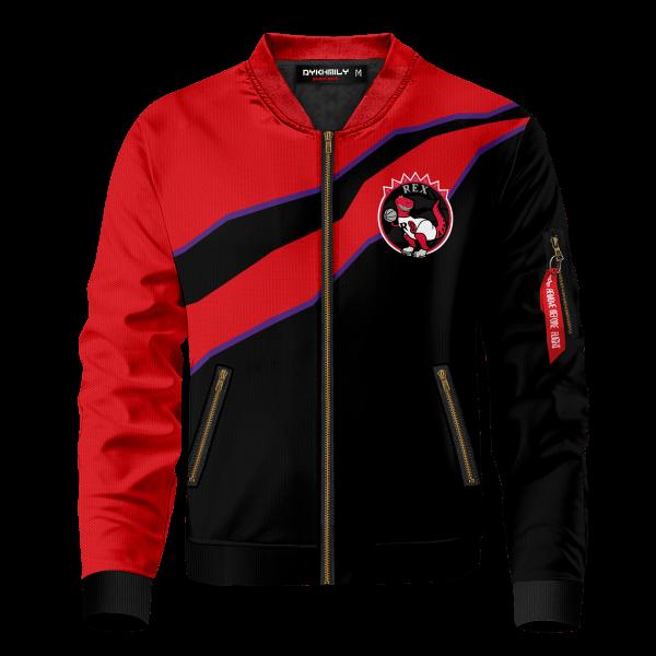 personalized toronto rex bomber jacket 723618 - Anime Jacket