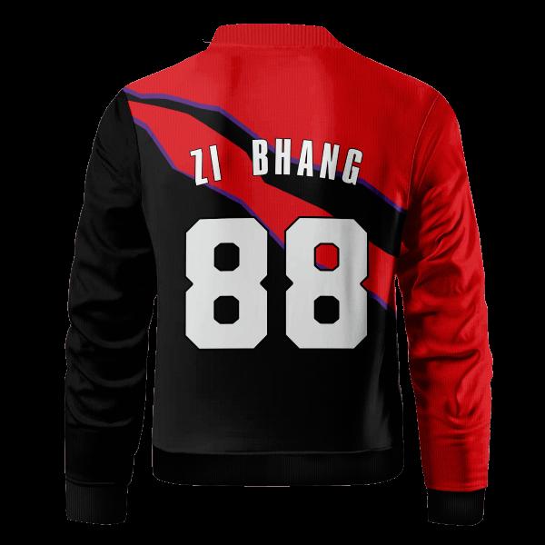 personalized toronto rex bomber jacket 979085 - Anime Jacket