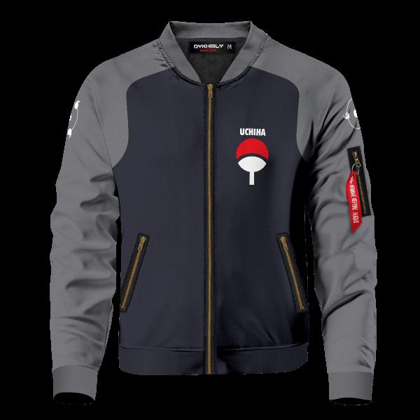 personalized uchiha fire bomber jacket 795429 - Anime Jacket