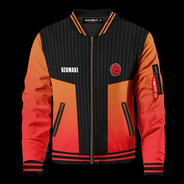 personalized uzumaki clan bomber jacket 624980 - Anime Jacket