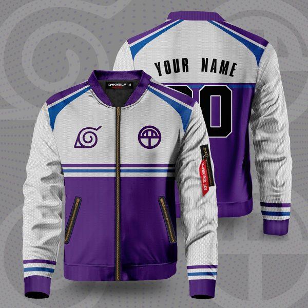 personalized yamanaka clan bomber jacket 826047 - Anime Jacket