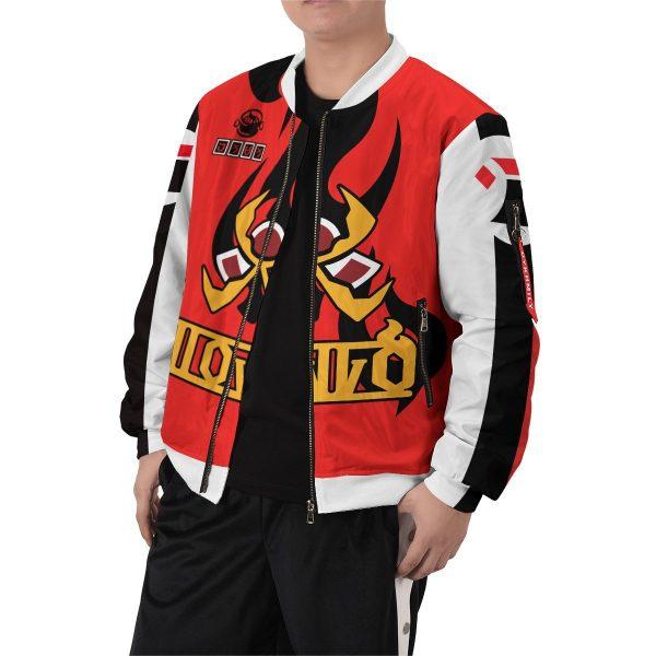 pokemon fire uniform bomber jacket 160927 - Anime Jacket