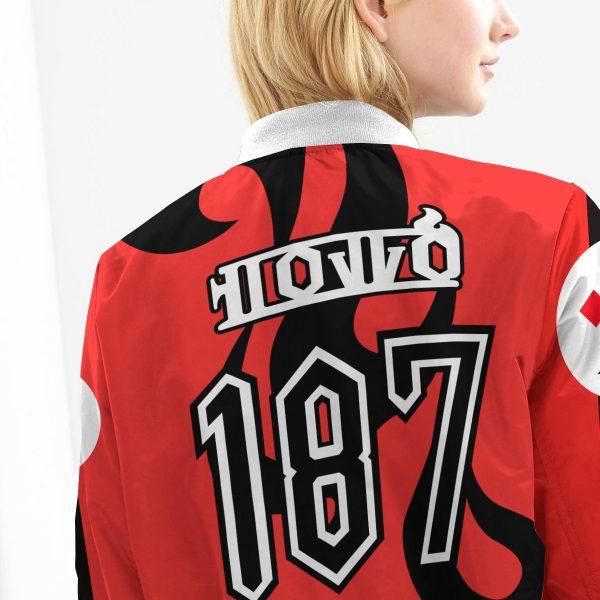pokemon fire uniform bomber jacket 506022 - Anime Jacket