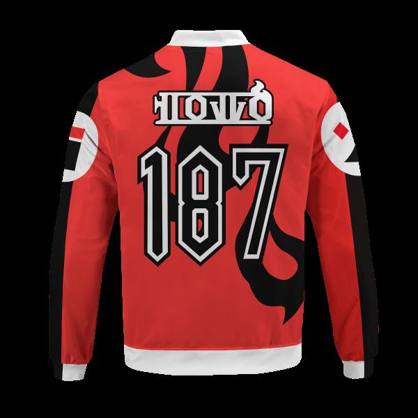 pokemon fire uniform bomber jacket 672082 - Anime Jacket