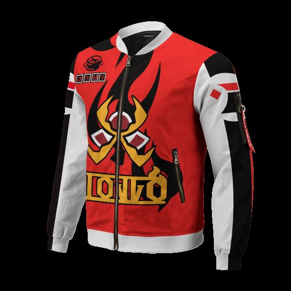 pokemon fire uniform bomber jacket 985295 - Anime Jacket